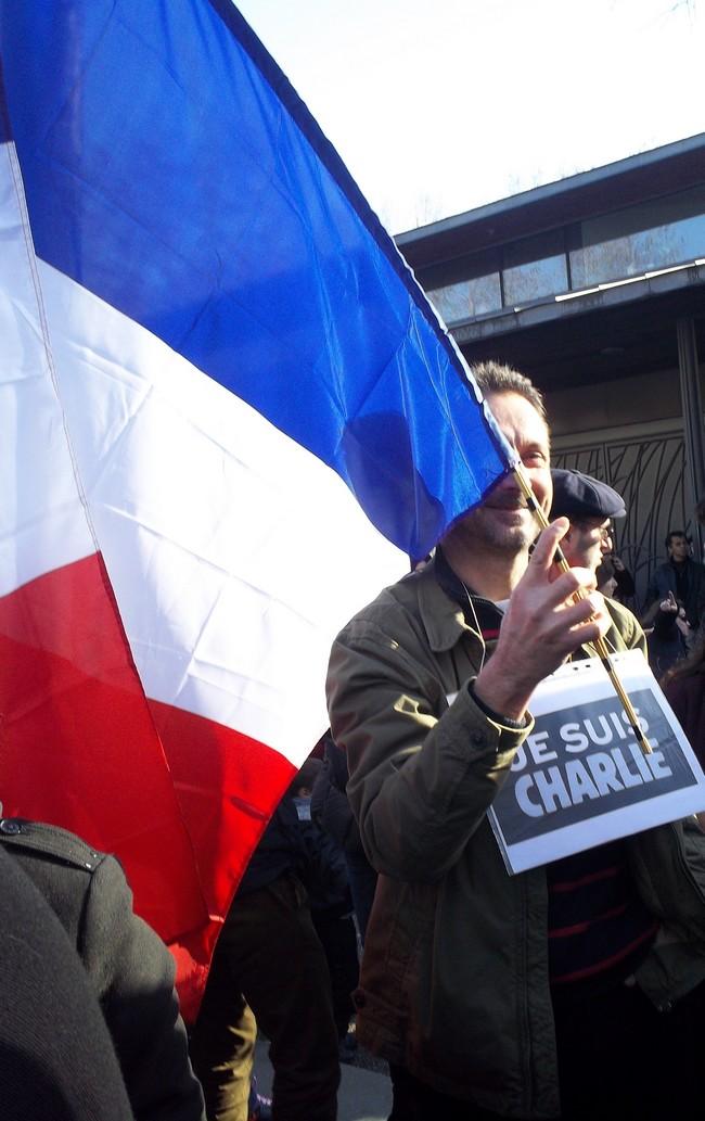 Marche Républicaine Bordeaux 11 janvier 2015.
