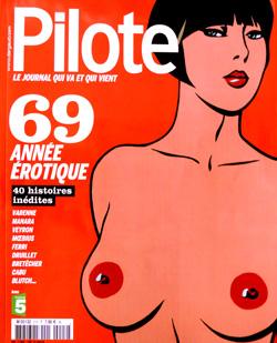 « 69, Année Erotique », numéro spécial été 2009 du magazine Pilote.