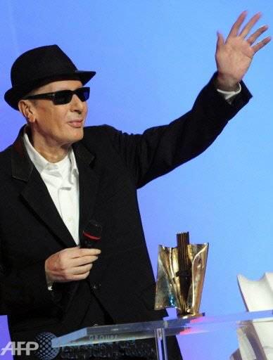 Alain Bashung L'adieu à son public Victoires de la Musique 28 février 2009.