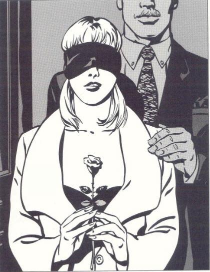 Alex Varenne Planche BDSM pour « La Correction ou La Confusion des Sens » - Roman de Philippe de Saxe - Réédition chez Glénat, Collection « Drugstore » - novembre 2009.
