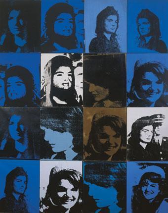 """Andy Warhol """"Jackie"""" 1964."""