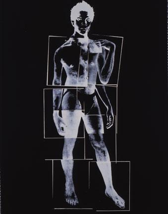 "Andy Warhol ""Jean-Michel Basquiat"" 1984."