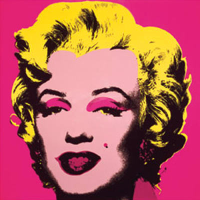 "Andy Warhol ""Marilyn Monroe Hot Pink"" 1967."