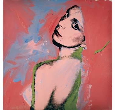 "Andy Warhol ""Mrs Zoppa-Sachs"" 1973."