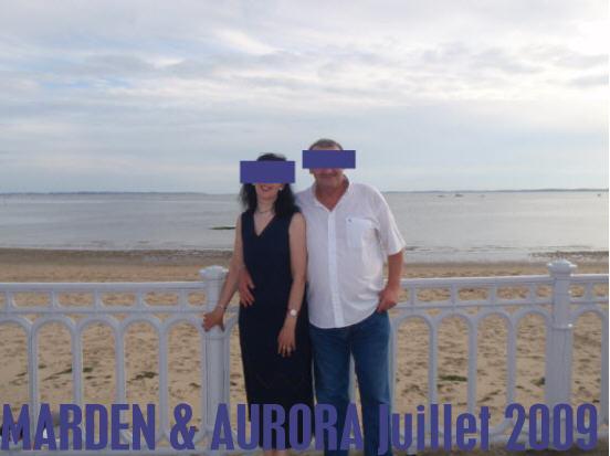BDSM MARDEN & AURORA Océan Atlantique juillet 2009.