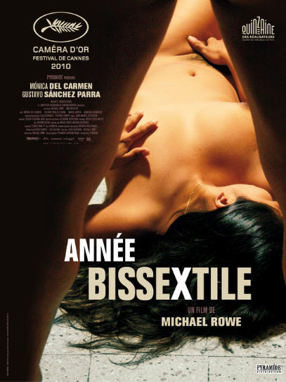 """BDSM """"Année Bissextile"""" (Ano Bisiesto), un film mexicain de Michael Rowe avec Monica Del Carmen et Gustavo Sanchez Perra, Caméra d'Or au Festival de Cannes 2010."""