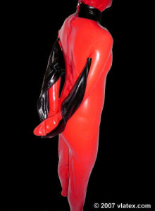 BDSM Armbinders Latex Boutique Vlatex.
