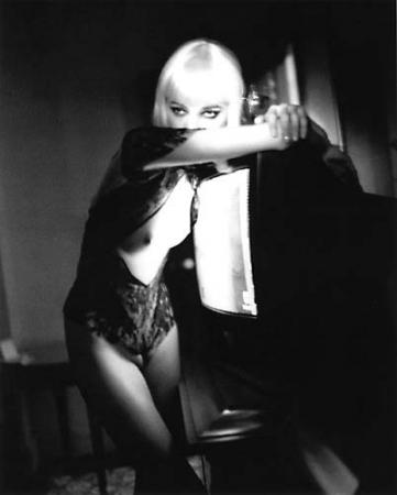 BDSM Blonde Helmut Newton.