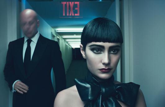 BDSM Bruce Willis et sa femme Emma Hemming photographiés par Steven Klein pour W Magazine 2009.