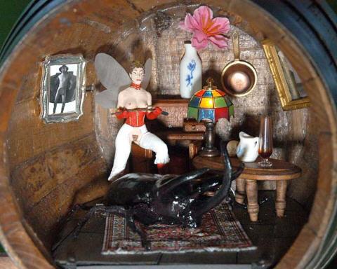 BDSM AURORAWEBLOG Sculpture Corrado Bonomi Fatina Fatata Fatale 2004.
