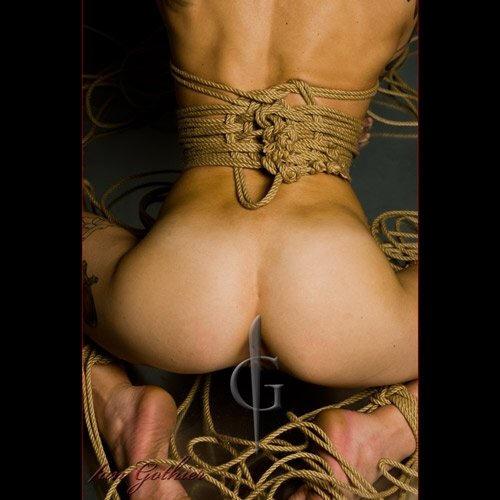 BDSM Pratiques Photographie de Ian Gothier: Shibari.