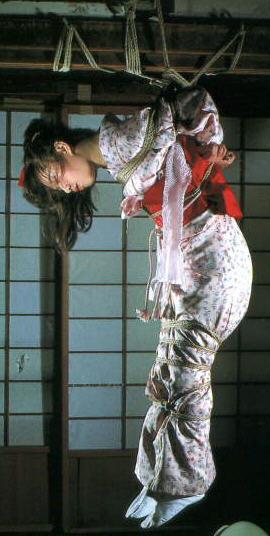 BDSM Shibari Geisha en kimono.
