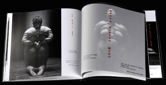 """BDSM et Kinbaku """"Boundless"""" le livre Hikari Kesho 2005."""