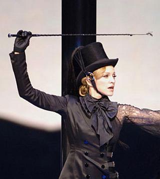 """BDSM Quand Madonna donne le """"swing"""" à la cravache... AURORAWEBLOG."""