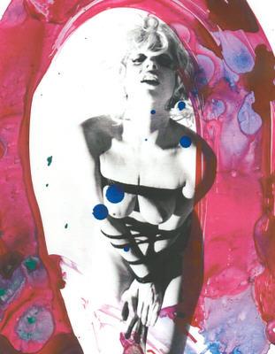 """BDSM Nobuyoshi Araki Bondage de mode pour Lady Gaga dans le magazine """"Vogue Hommes Japan"""" de septembre 2009."""