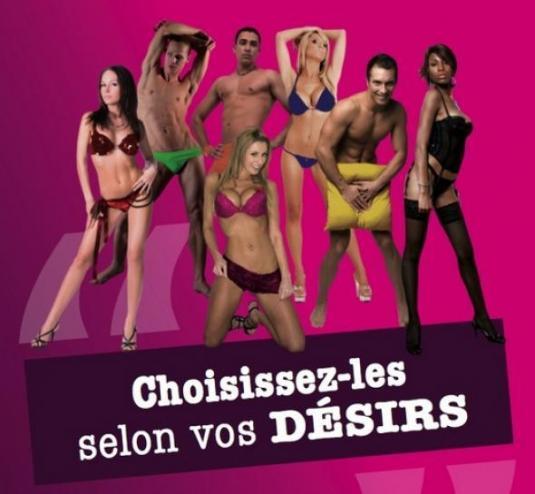 Thème Glamour de la campagne du PEJ pour les Elections Européennes 2009: Choisissez-les selon vos désirs.