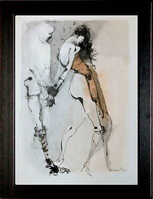 BDSM Littérature Histoire d'O de Pauline Réage illustré par Leonor Fini.