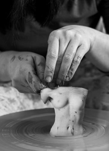 BDSM Le sculpteur d'argile.