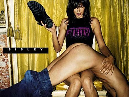 """BDSM La fessée de Sisley ou la subversion du """"porno-chic"""" en 2000."""