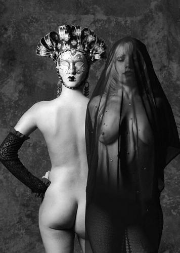 BDSM Le masque et le voile.