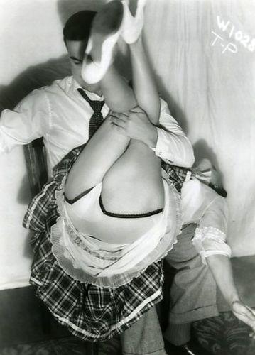 BDSM Spanking Vintage AURORAWEBLOG.