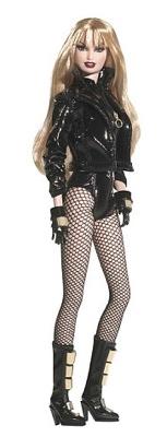 """Barbie BDSM: """"Black Canary"""" by Mattel, poupée pour les acheteurs de plus de 14 ans, en vente dès septembre 2008."""