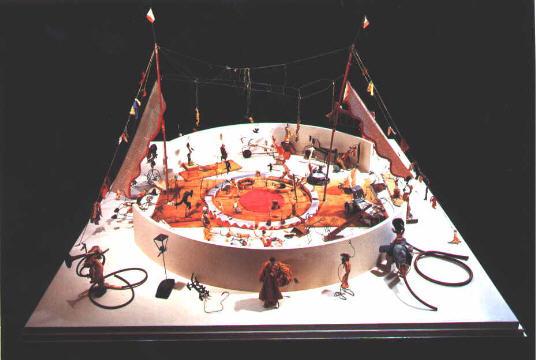 Alexander Calder Le Cirque Vue d'ensemble.