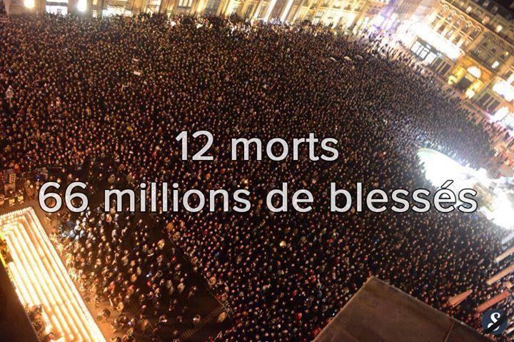 Charlie Hebdo Le deuil français 8 janvier 2015