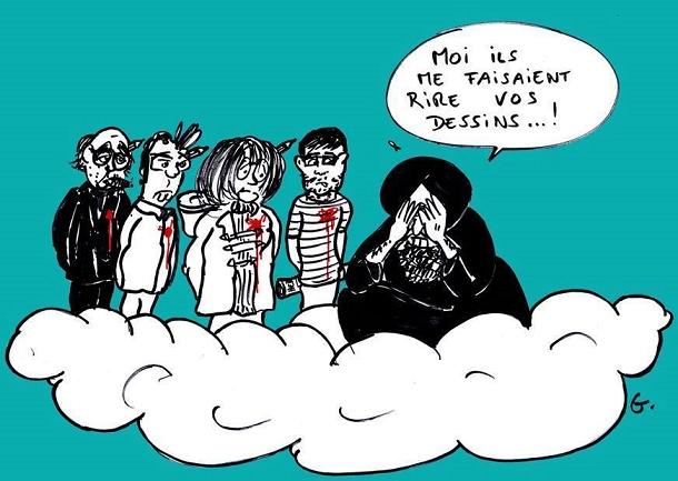 Charlie Hebdo et le Prophète.