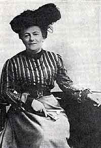 Clara Zetkin 1857 - 1933.