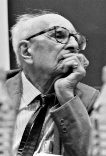 Claude Lévi-Strauss (1908 - 2009) un anthropologue philosophe.