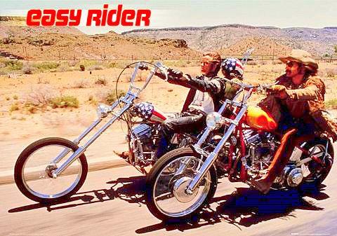 """Dennis Hopper (1936 - 2010), réalisateur et acteur de """"Easy Rider"""" en 1969."""