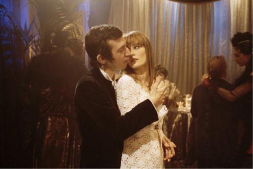 Eric Elmosnino et Lucy Gordon (Serge et Jane) dans le film de Joann Sfar « Gainsbourg, Vie Héroïque » - 2009.