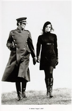 Helmut Newton Fashion British Vogue 1967