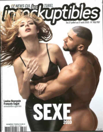 Les Inrockuptibles No 765 Spécial Sexe 2010.