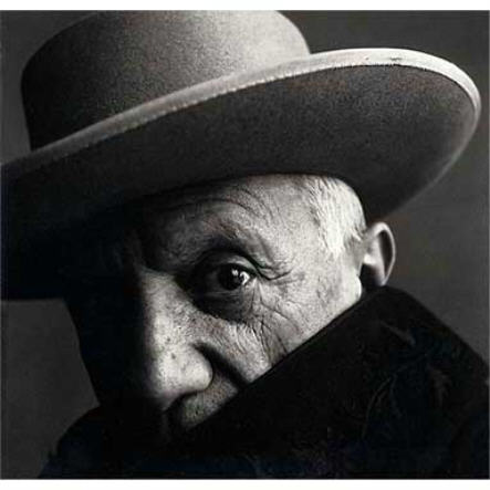 Irving Penn Picasso 1957.