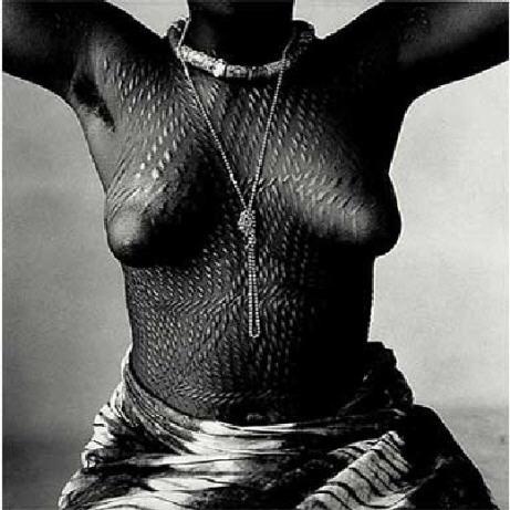 Irving Penn Femme du Dahomey 1967.