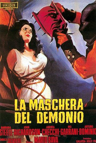 La maschera del demonio un film de Mario Bava et d'Ennio De Concini avec Barbara Steele 1960.