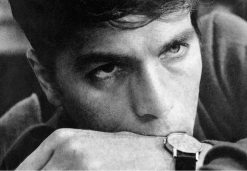 """Laurent Terzieff dans """"La Prisonnière"""" de Clouzot,1968."""