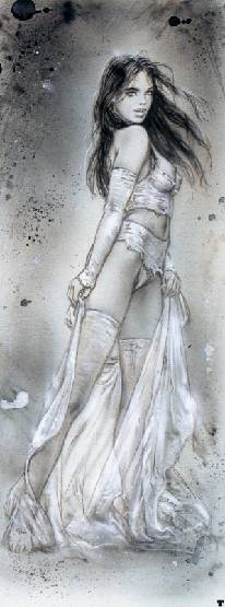 "Luis Royo ""Prohibited Book II"""