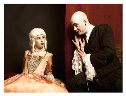 BDSM AURORAWEBLOG Marquis de Sade et sa Marquise photographie de Magic Zyks.