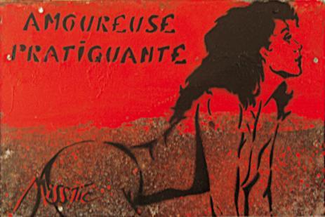 """Miss.Tic Amoureuse Pratiquante Exposition """"Go Homme"""" 2009."""