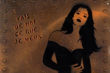 Miss.Tic Fais de moi ce que je veux Exposition Go Homme 2009.