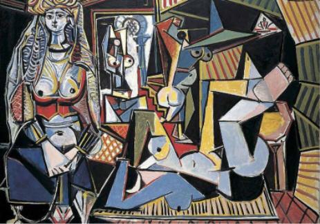 "Picasso ""Femmes d'Alger"" 1955."