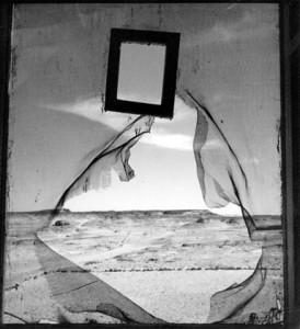"""""""Portrait de l'espace"""" une photographie égyptienne de Lee Miller 1937."""