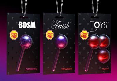 Sex Candy 18 + Chupa Chups Visuel agence publicité Firma 2009.