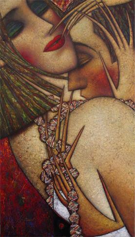 """Tableau Andrei Protsuk """"Embrace"""""""