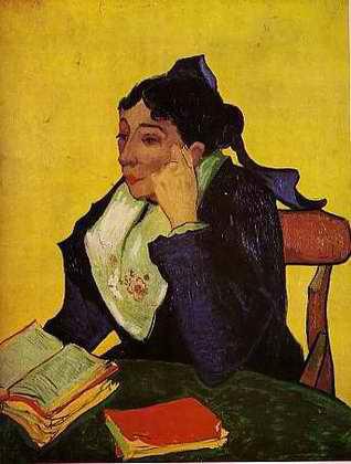 """Vincent Van Gogh """"Portrait de Madame Ginoux en arlésienne"""" 1888."""