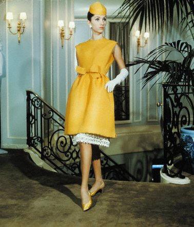 Vogue Marc Bohan pour Dior 1965.