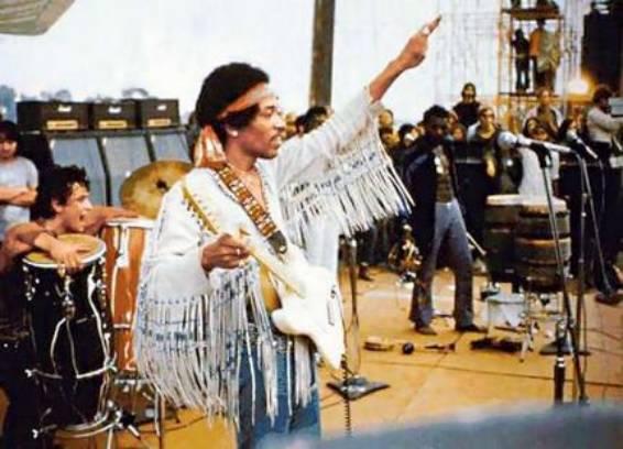 Woodstock 1969, Jimi Hendrix AURORAWEBLOG.